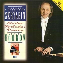 Alexander Scriabin - Etudes / Preludes / Poems - SBM Gold CD