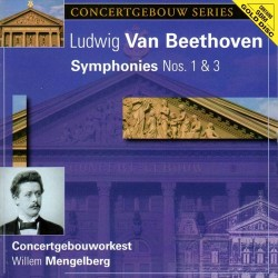 Ludwig van Beethoven - Symphonies No.1&3 - SBM Gold CD