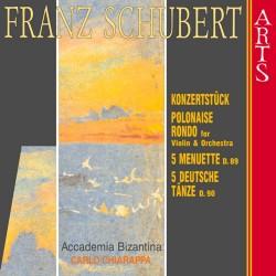 Franz Schubert - Konzertstuck, Polonaise, Rondo, Menuette - CD