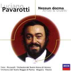 Luciano Pavarotti - Nessun Dorma - Arias and Duets - CD