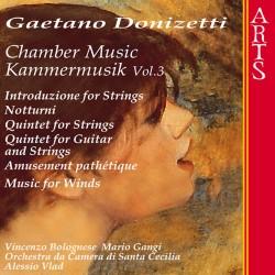 Gaetano Donizetti - Chamber Music Vol.3 - CD