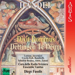 George Frideric Handel - Dettingen Te Deum - CD