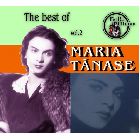 Maria Tanase - The Best Of Maria Tanase vol.2 - CD Digipack