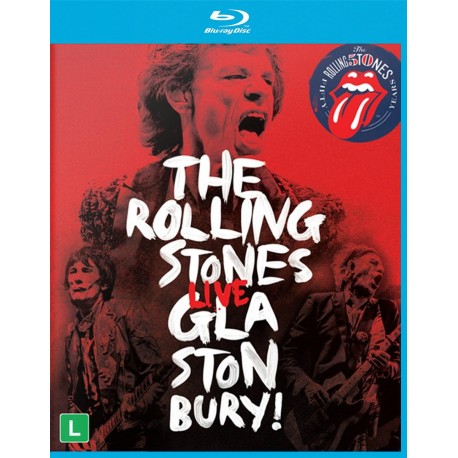 Rolling Stones - Live At Glastonbury - Blu-ray