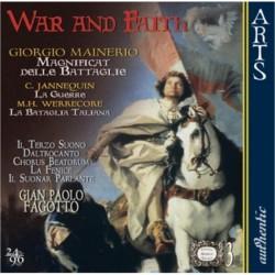 Giorgio Mainerio - War and Faith - CD