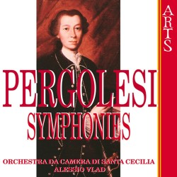 Giovanni Battista Pergolesi - Symphonies - CD