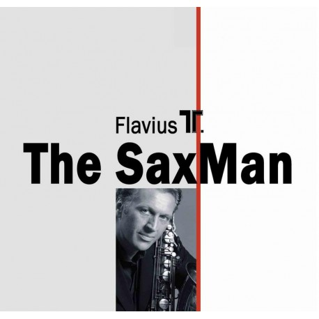 Flavius T. - The SaxMan - CD Vinyl Replica