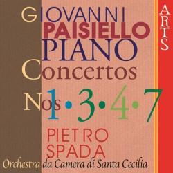 Giovanni Paisiello - Piano Concerti Nr.1, 3, 4, 7 - CD