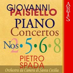 Giovanni Paisiello - Piano Concerti Nr.2, 5, 6, 8 - CD