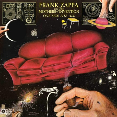 Frank Zappa - One Size Fits All - CD
