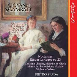 Giovanni Sgambati - Complete Piano Works Vol. 2 - CD