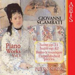 Giovanni Sgambati - Complete Piano Works Vol. 3 - CD