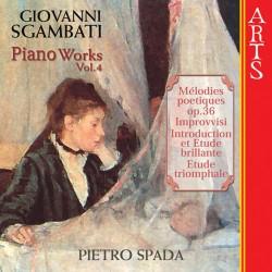 Giovanni Sgambati - Complete Piano Works Vol. 4 - CD