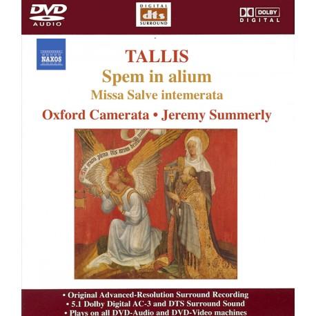 Thomas Tallis - Spem In Alium / Missa Salve Intemerata - DVDA