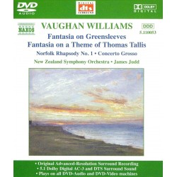 Ralph Vaughan Williams - Orchestral Favourites - DVDA