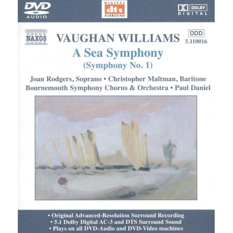 Ralph Vaughan Williams - A Sea Symphony - DVDA