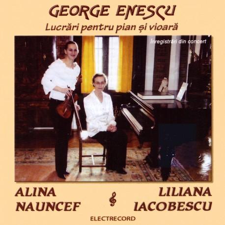 George Enescu - Lucrari pentru pian si vioara - CD