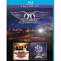 Aerosmith - Rock For The Rising Sun / Rocks Donington - 2 Blu-ray