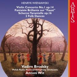 Henryk Wieniaswski - Viollin Concerto No. 1 op. 14 - CD