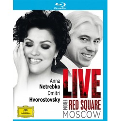 Anna Netrebko - Live From Red Square Moscow - Blu-ray