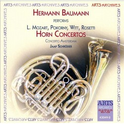 Hermann Baumann - Performs Horn Concertos - CD