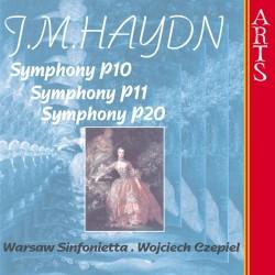 Johann Michael Haydn - Symphonies P10, P11, P20 - CD