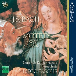Johann Sebastian Bach - Motets BWV 225-230 - CD