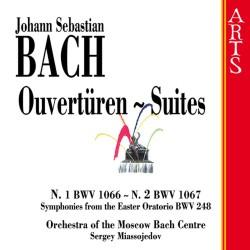 Johann Sebastian Bach - Ouverturen - Suites No.1 & 2 - CD