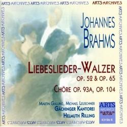 Johannes Brahms - Liebeslieder-Walzer - CD