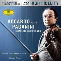 Niccolo Paganini - Accardo Plays Paganini - 6 CD + Blu-ray