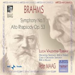 Johannes Brahms - Symphony No. 1 - CD