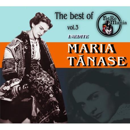 Maria Tanase - The Best Of Maria Tanase vol.3 (inedite) - CD Digipack