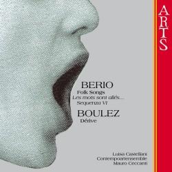 Luciano Berio / Pierre Boulez - Folk Song s.a. - CD