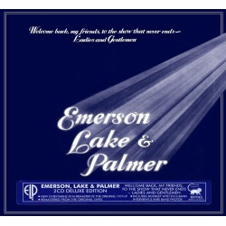 Emerson, Lake & Palmer - Welcome Back My Friends To The show That Never Ends Ladies and Gentlemen - 2 CD Digipack