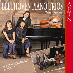 """Ludwig van Beethoven - Piano Trios Nos. 3 and 7, """"Archduke"""" Vol.1 - CD"""