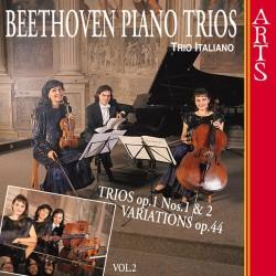 Ludwig van Beethoven - Piano Trios Nos. 1, 2 / Variations, Op. 44 Vol.2 - CD