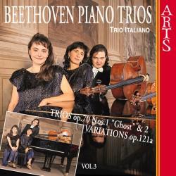 "Ludwig van Beethoven - Piano Trios Nos. 5, ""Ghost"" and 6 / Variations, Op. 121a Vol.3 - CD"