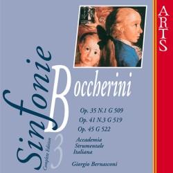 Luigi Boccherini - Sinfonies G509 / G522 / G519 vol.3 - CD