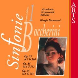 Luigi Boccherini - Sinfonies G510 / G512 / G513 vol.1 - CD