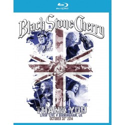 Black Stone Cherry - Thank You - Livin Live Birmingham UK October 30 - Blu-ray
