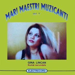 Gina Lincan - Numar secundele - CD
