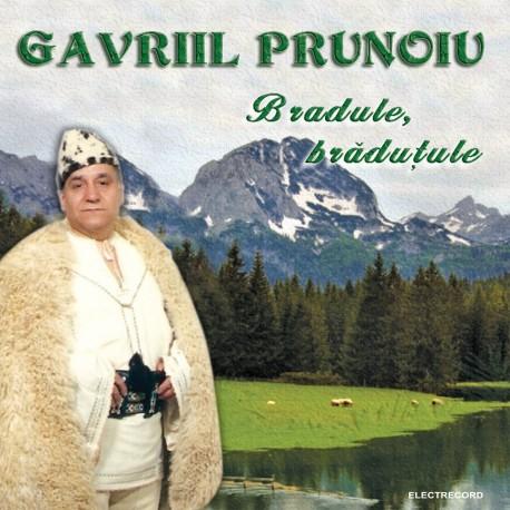Gavriil Prunoiu - Bradule, bradutule - CD