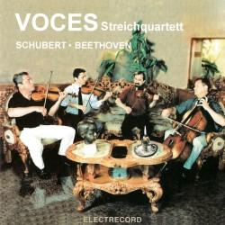 Voces Streichquartett - Schubert, Beethoven - CD