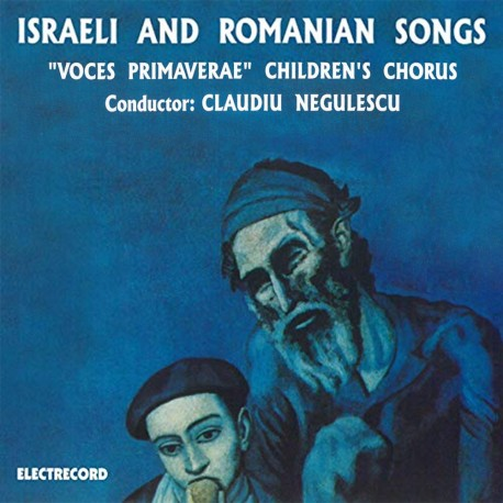 Voces primaverae - Israeli and romanian songs - CD