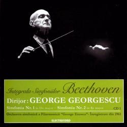 George Georgescu - Ludwig van Beethoven Simfoniile Nr. 1 & 2 - CD