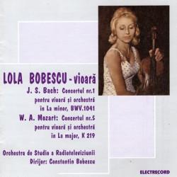 Lola Bobescu - Recital vioara - J.S. Bach & W.A. Mozart - CD