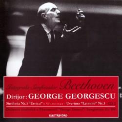 """George Georgescu - Ludwig van Beethoven Simfonia Nr.3 """"Eroica"""" - CD"""