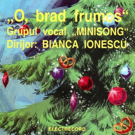 Grupul vocal MINISONG - O, brad frumos - CD