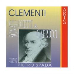 Muzio Clementi - Complete Piano Works Vol. 12 - CD