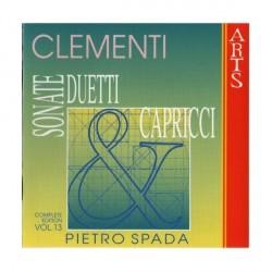 Muzio Clementi - Complete Piano Works Vol. 13 - CD